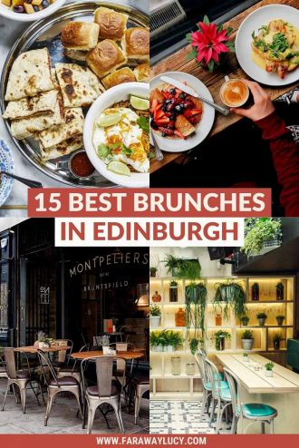 Best Brunch in Edinburgh: 15 Must-Try Brunches in Edinburgh. From no-nonsense brunches to Instagrammable boozy brunches, here are 15 restaurants, bars and cafes with the best brunch in Edinburgh. Click through to read more...