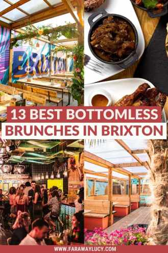 Bottomless Brunch Brixton: 13 Best Brunches You Need to Try. From Caribbean cuisine and Cajun-BBQ to brunch with live DJs and karaoke, here are the 13 best places to go for bottomless brunch in Brixton! Click through to read more...