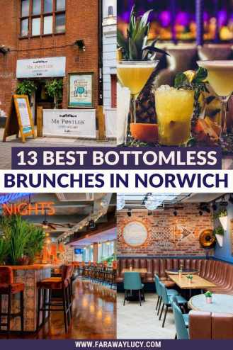 Bottomless Brunch Norwich: 13 Best Brunches You Need to Try. From Mediterranean and Mexican cuisine to pizzas and pub grub, here are the 13 best places to go for bottomless brunch in Norwich! Click through to read more...