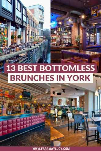 Bottomless Brunch York: 13 Best Brunches You Need to Try. From pub grub and pizza to Latin American and Caribbean cuisine, here are the 13 best places to go for bottomless brunch in York! Click through to read more...