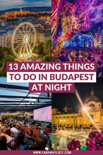 13 Amazing Things to Do in Budapest at Night [2021]. From bars, clubs and rooftop cinemas to bike tours, wine tasting, and dinner cruises, here are 13 amazing things to do in Budapest at night! Click through to read more...