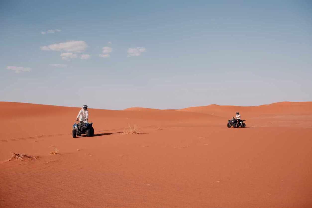 two-quad-bikes-travelling-in-desert