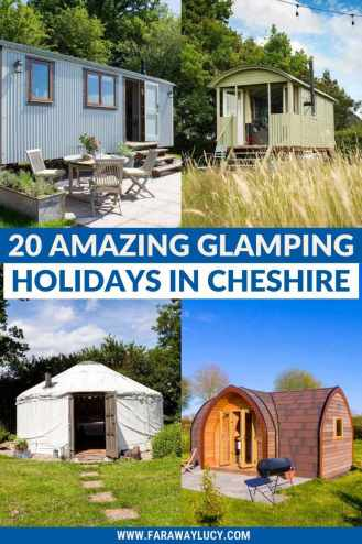 Glamping Cheshire: 20 Amazing Places You Need to Stay At [2021]. From shepherds huts and yurts to glamping pods and bell tents, here are 20 amazing glamping holidays in Cheshire that you need to go on! Click through to read more...