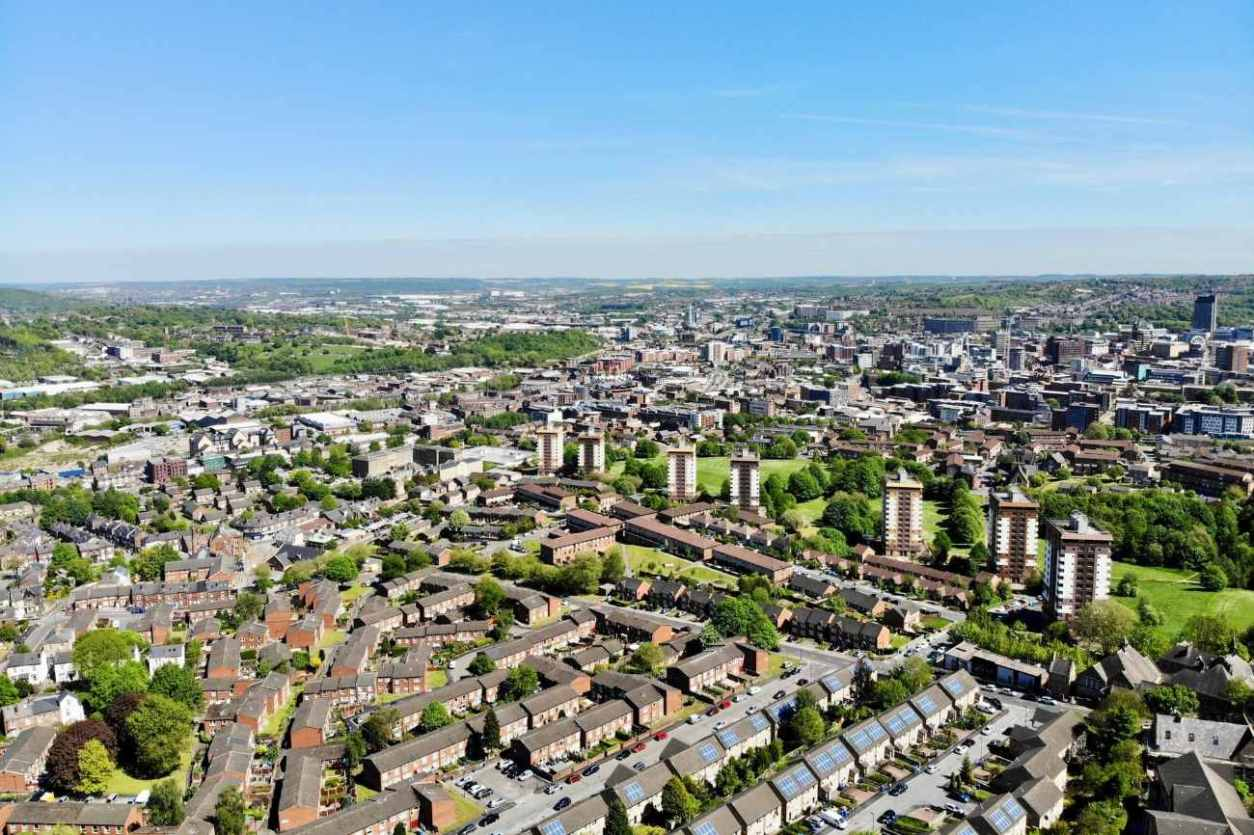 aerial-view-of-sheffield-city-day-trips-from-york