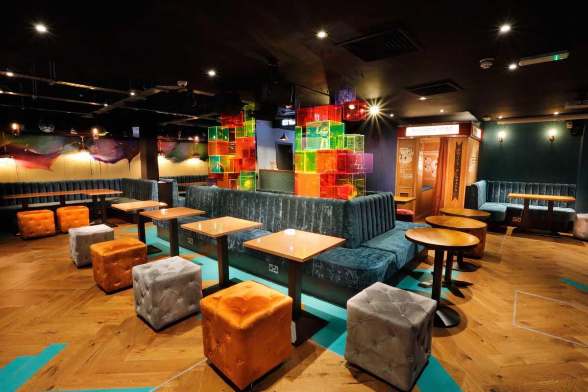 tables-inside-lucky-voice-karaoke-bar