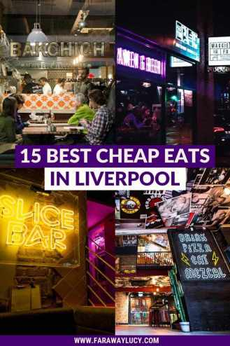 15 Best Cheap Eats in Liverpool for People on a Budget [2021]. From late-night pizza to street food markets to Japanese cuisine, here are the 15 best cheap eats in Liverpool for people on a budget! Click through to read more...
