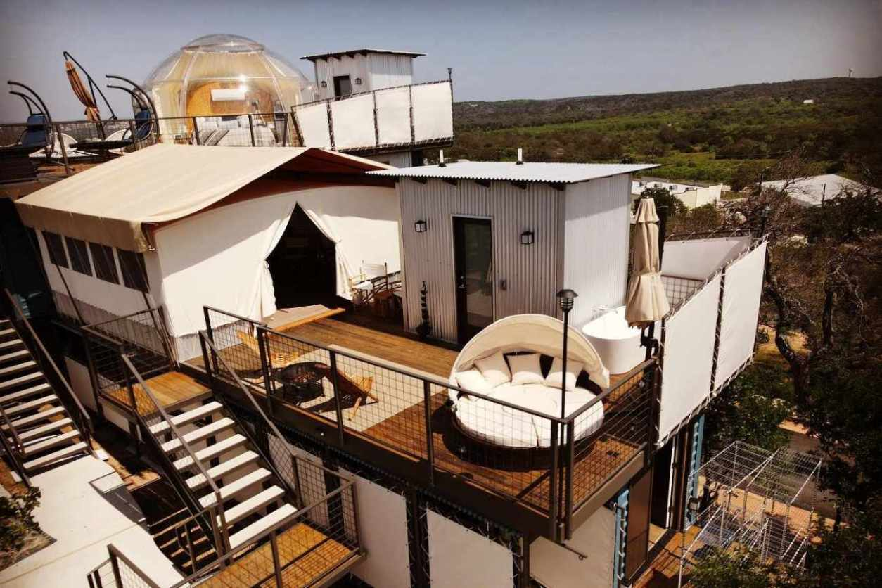 hozhoni-on-the-hill-bubble-dome-on-top-of-building