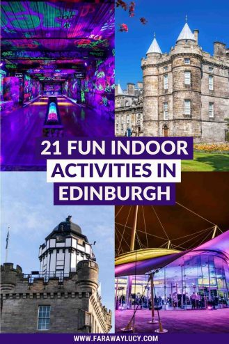 21 Fun Indoor Activities in Edinburgh You Need To Try [2021]. From museums and palaces to crazy golf and botanical gardens, here are 21 fun indoor activities in Edinburgh you need to try! Click through to read more...