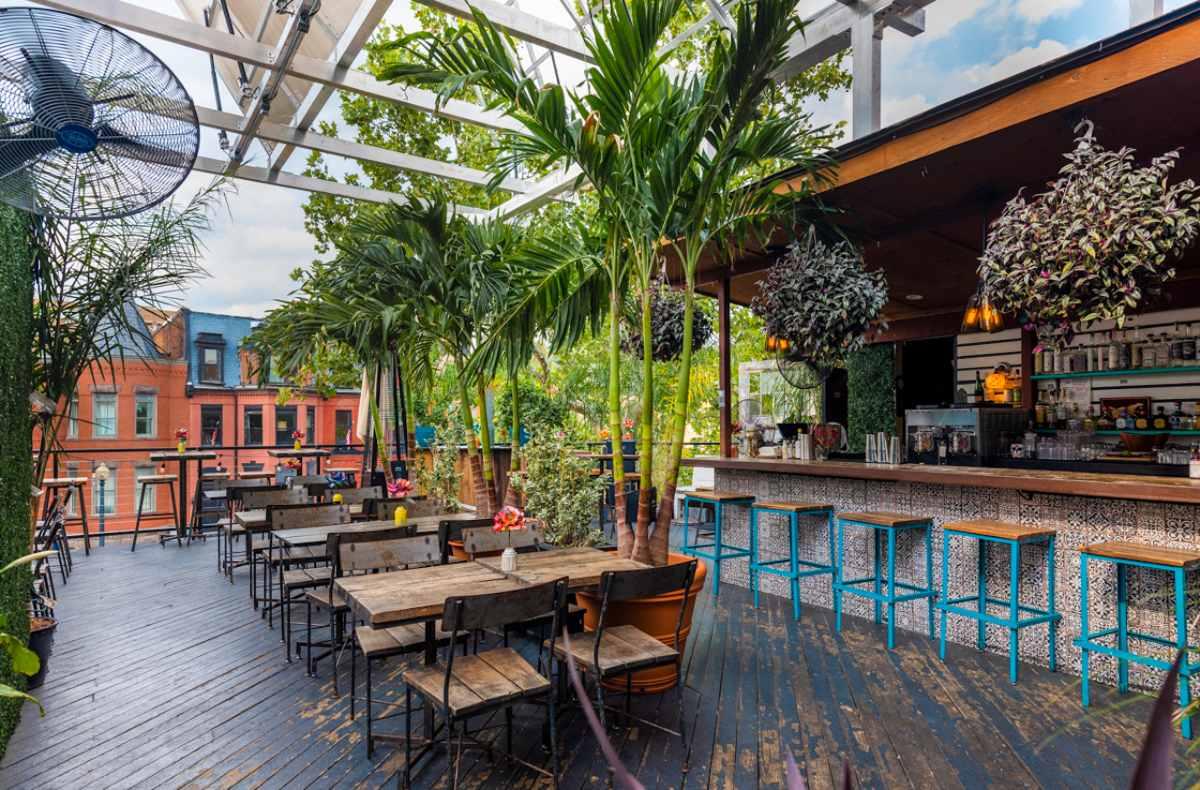 outdoor-terrace-at-el-techo-restaurant-bottomless-brunch-dc