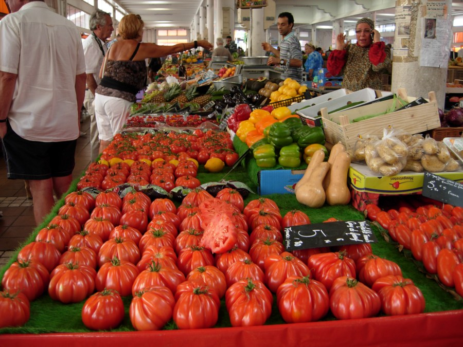 Cannes Fruit, Vegetable and Fish Market