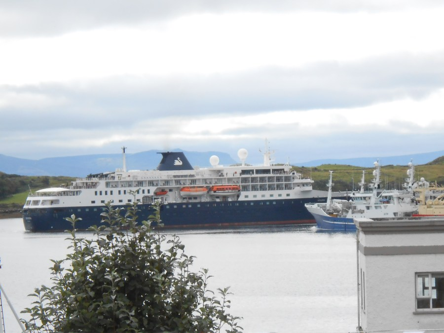Cruise Ship in Killybegs harbour