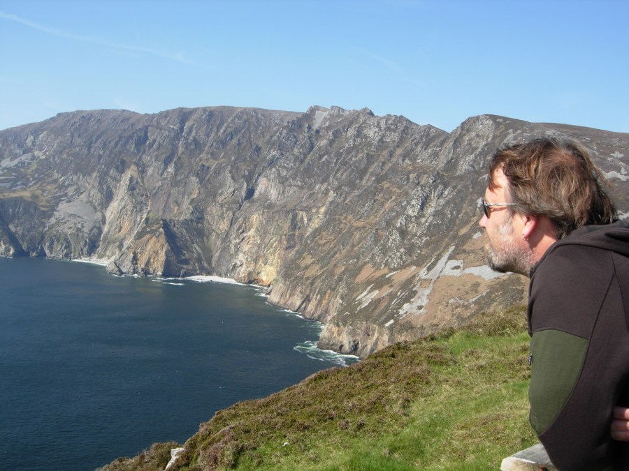 Keeping my promise at Slieve League