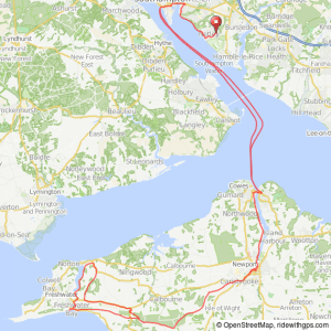 Isle of Wight Route image