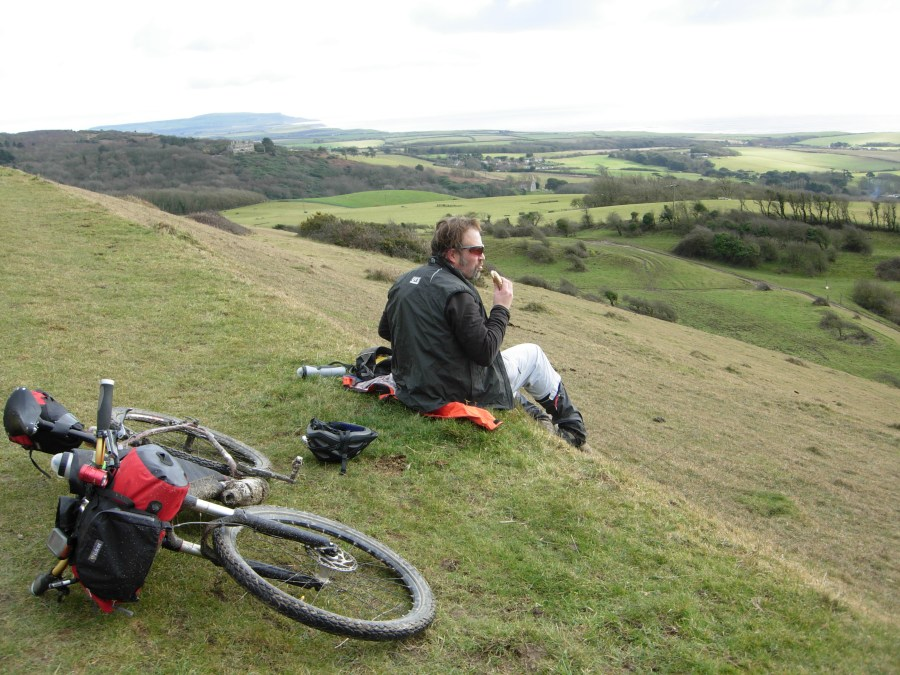 Picnic at Mottistone Down