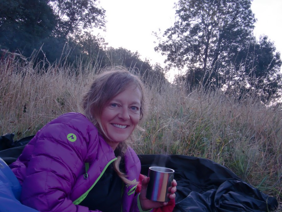 Tea on Beacon Hill on bivvy