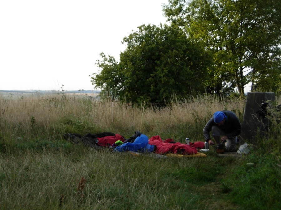 bivvy on Beacon Hill