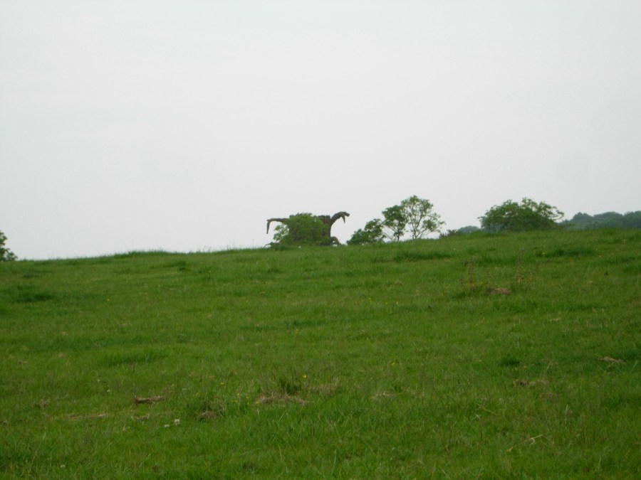 Dinosaur on the isle of wight