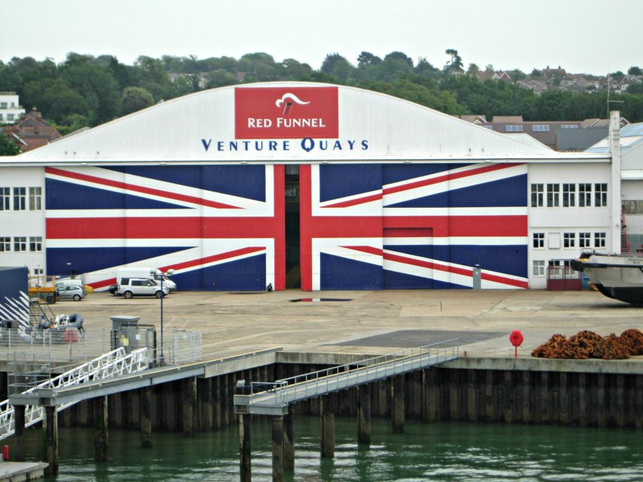 Largest union jack in the world IOW