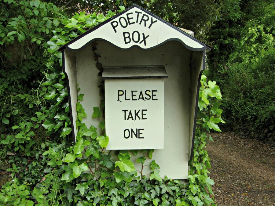 Poetry box IOW