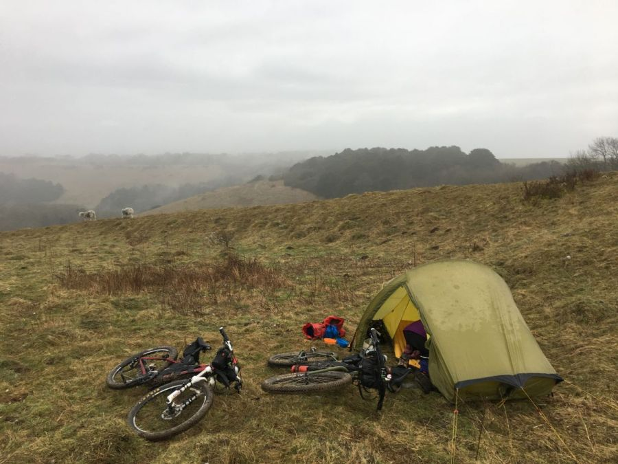 Bivvy a month- February Wildcamp on Old Winchester Hill