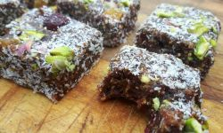 Date bar recipe - vegan - gluten free