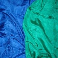 Heilwirkung von Grün, Blau und Violett