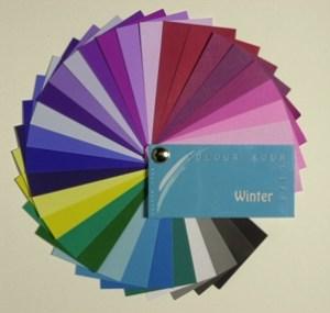 Farbtyp Winter