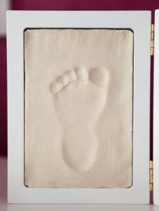 Fußabdrücke von Baby