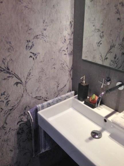 Wasserfeste Tapete Dusche die fugenlose dusche trendig und chic farbefreudeleben