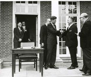 Wo schon Kennedy zu Gast war…