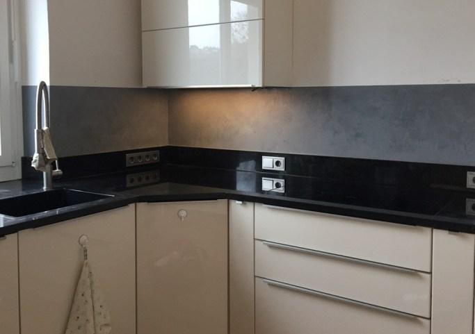 Abwaschbare Farbe Statt Fliesen Küche küchenrückwand – alternative zur fliese | farbefreudeleben