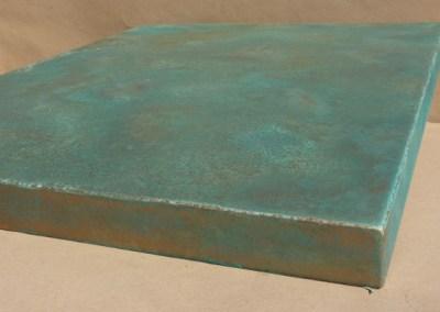Metallfarbe Kupfer antik