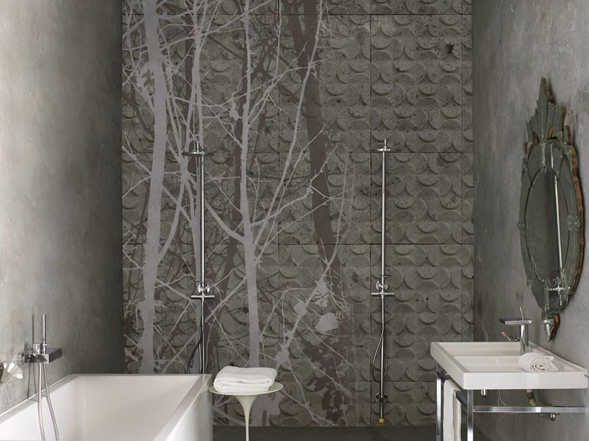Neue Tapeten für Bad und Wohnen