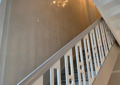 Marmorputz im Treppenhaus