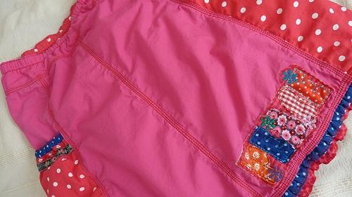Anleitung Kinderrock- Kombi, Schnittmuster farbenmix