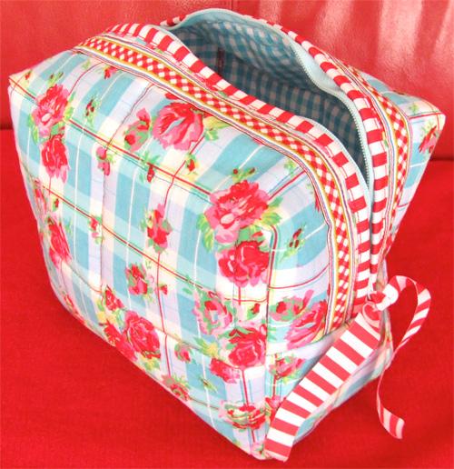 kostenloses Tutorial Nähanleitung Box/Tasche farbenmix