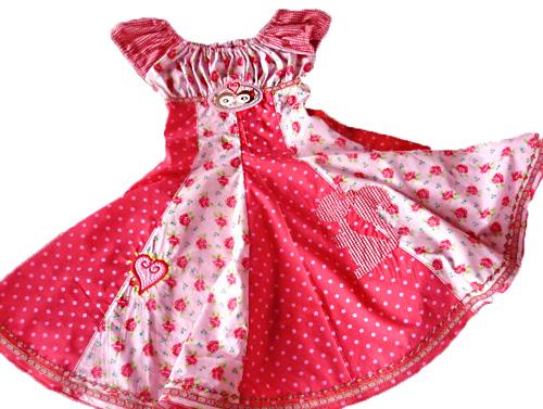 Schnittmuster Einschulungskleid ELODIE, farbenmix