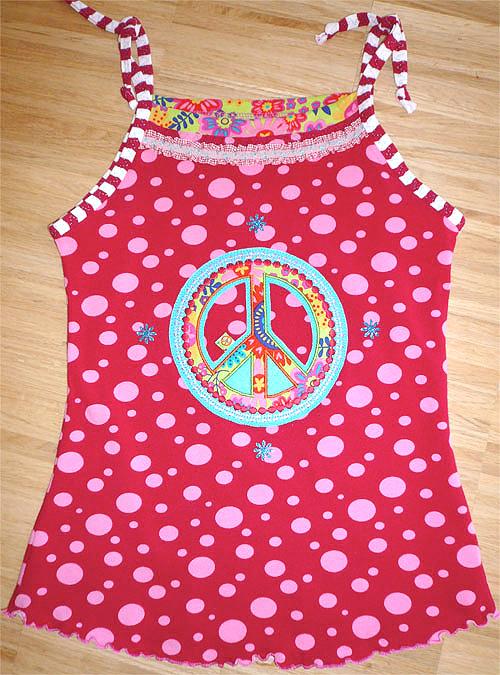 Schnittmuster Sommer-Shirt, Fotoanleitung farbenmix
