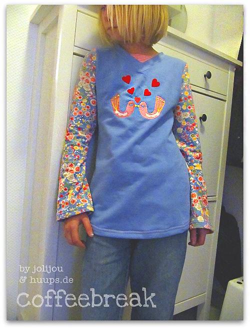Schnittmuster LENI farbenmix Shirt