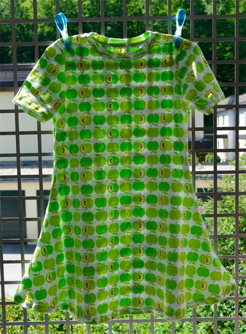 OLIVIA Kleid Schnittmuster Mädchen selber nähen farbenmix