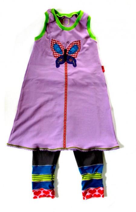 Kleid selber nähen, Anleitung nähen für Mädchen