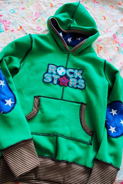 Pullover Sweater Pulli Trainingspulli Sweatshirt Anleitung Schnittmuster farbenmix