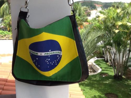 Brasilien Fußball Tasche