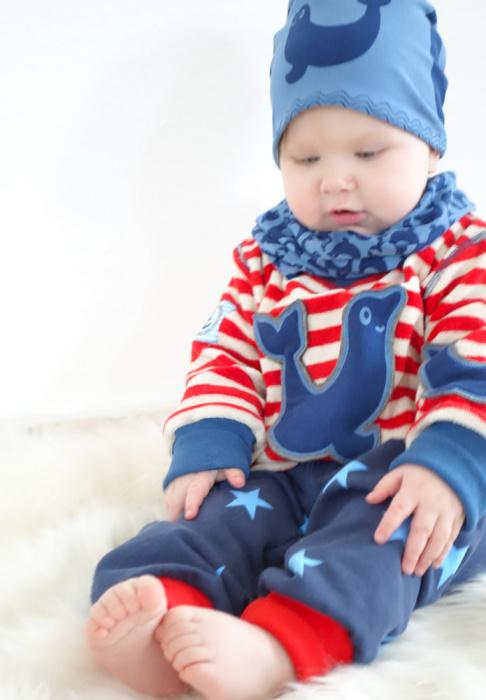 Babykombi farbenmix robrob Stoff