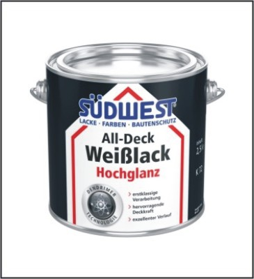 SÜDWEST ALL-Deck Weißlack