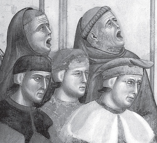 Fig. 8: Gruppo di cantori rinascimentali