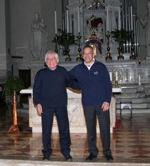 Marco Maiero con Bepi de Marzi