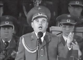 Cantore del Coro dell'Armata Rossa