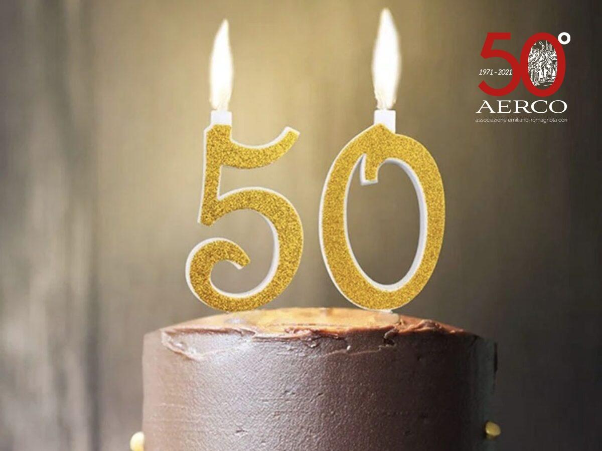 buon 50 compleanno aerco