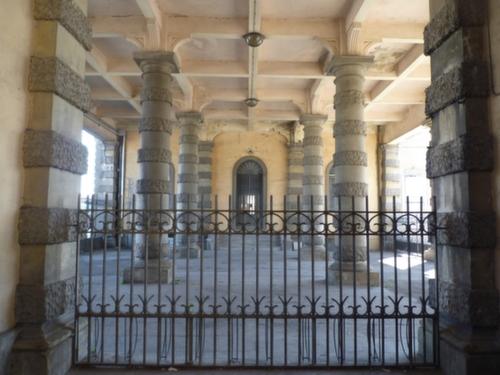 Foro Boario di Padova: vista degli interni pre-restauro